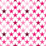 Pink stars seamless background. Stars abstract seamless geometric pattern Stock Images