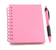 Pink stationery style Royalty Free Stock Photos