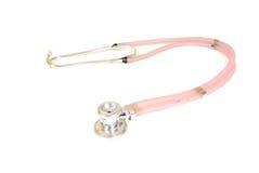 Pink Stethoscope Royalty Free Stock Photos