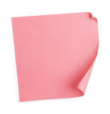 Pink sticker Stock Photo