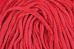 Pink stockinet ribbons background Royalty Free Stock Image