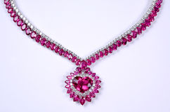 Pink stones Stock Image