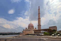 Pink stonned mosque Stock Photography