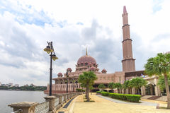 Pink stonned mosque Stock Image