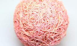 pink string ornament Royalty Free Stock Photography
