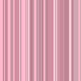 Pink Stripe Background. Graphic illustration of a background with different shades of pink stripes Stock Photo