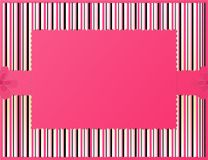 Pink striped background Stock Photos