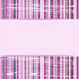 Pink striped background Royalty Free Stock Image