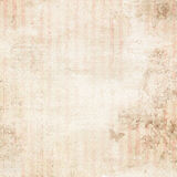 Pink striped distressed floral background Stock Images