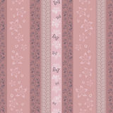 Pink striped pattern Royalty Free Stock Photography