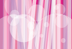 Pink stripes background. Vector illustration of graphic colorful pink and white background Stock Photography