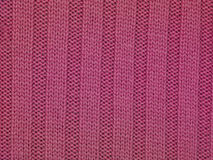 Pink stripes fabric background Stock Photo