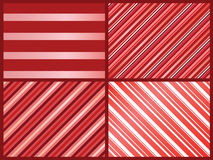 Pink stripes patterns stock photography