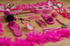 Pink stuff Stock Images