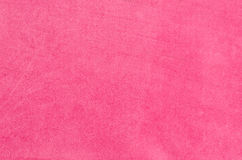 Pink suede Stock Image
