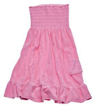 Pink Summer Dress Stock Photo