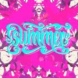 Pink Summer Royalty Free Stock Photo