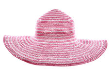 Pink summer hat Stock Photo