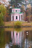 Pink summer house Royalty Free Stock Photos