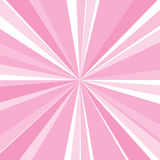 Pink sunburst Royalty Free Stock Photography