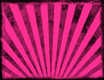 Pink sunburst background Stock Photos