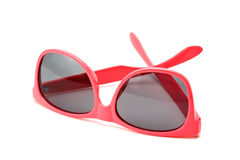Pink sunglasses Royalty Free Stock Photo