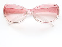Pink sunglasses 2. Glittery pink sunglasses royalty free stock photography