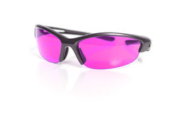 Pink sunglasses Royalty Free Stock Photo