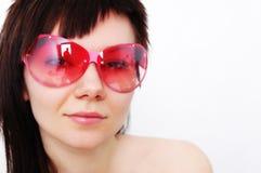 Pink sunglasses Stock Photo