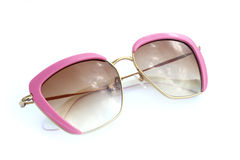 Pink sunglasses Stock Photography