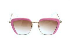 Pink sunglasses Royalty Free Stock Image