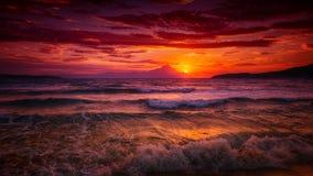 Pink sunrise Royalty Free Stock Photography