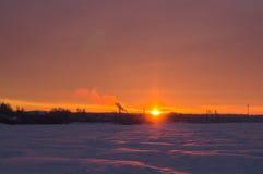 Pink sunrise Royalty Free Stock Image