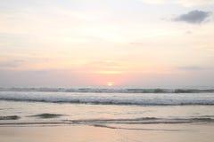 Pastel sunset Royalty Free Stock Image