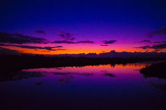 Pink sunset Royalty Free Stock Images
