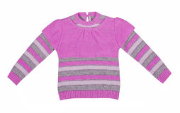 Pink sweater Stock Photography