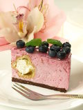 Pink sweet cake Royalty Free Stock Image