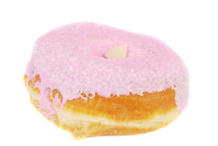 Pink sweet doughnut Royalty Free Stock Image