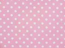 Pink sweet polka dot background Royalty Free Stock Image