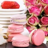 Pink sweet square Stock Image