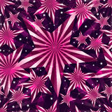 Pink sweet star seamless pattern Stock Photo