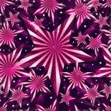 Pink sweet star seamless pattern. Illustration pink color sweet stars seamless pattern shine background texture wallpaper graphic element Stock Photo