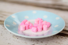 Pink Sweets Royalty Free Stock Photos