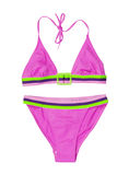 Pink swimsuit Royalty Free Stock Images