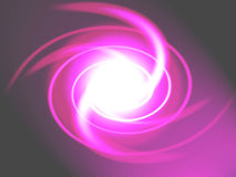 Pink swirl Royalty Free Stock Photo