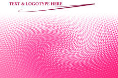 Pink swirl background. Pink and white swirling  background with white space for added text Stock Images
