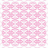 Pink Swirl Design Stock Image