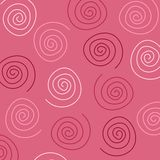 Pink Swirls Pattern Stock Photography
