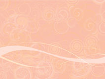 Pink Swirly Abstract Background Royalty Free Stock Photo