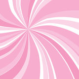 Pink swirly sunburst Royalty Free Stock Images